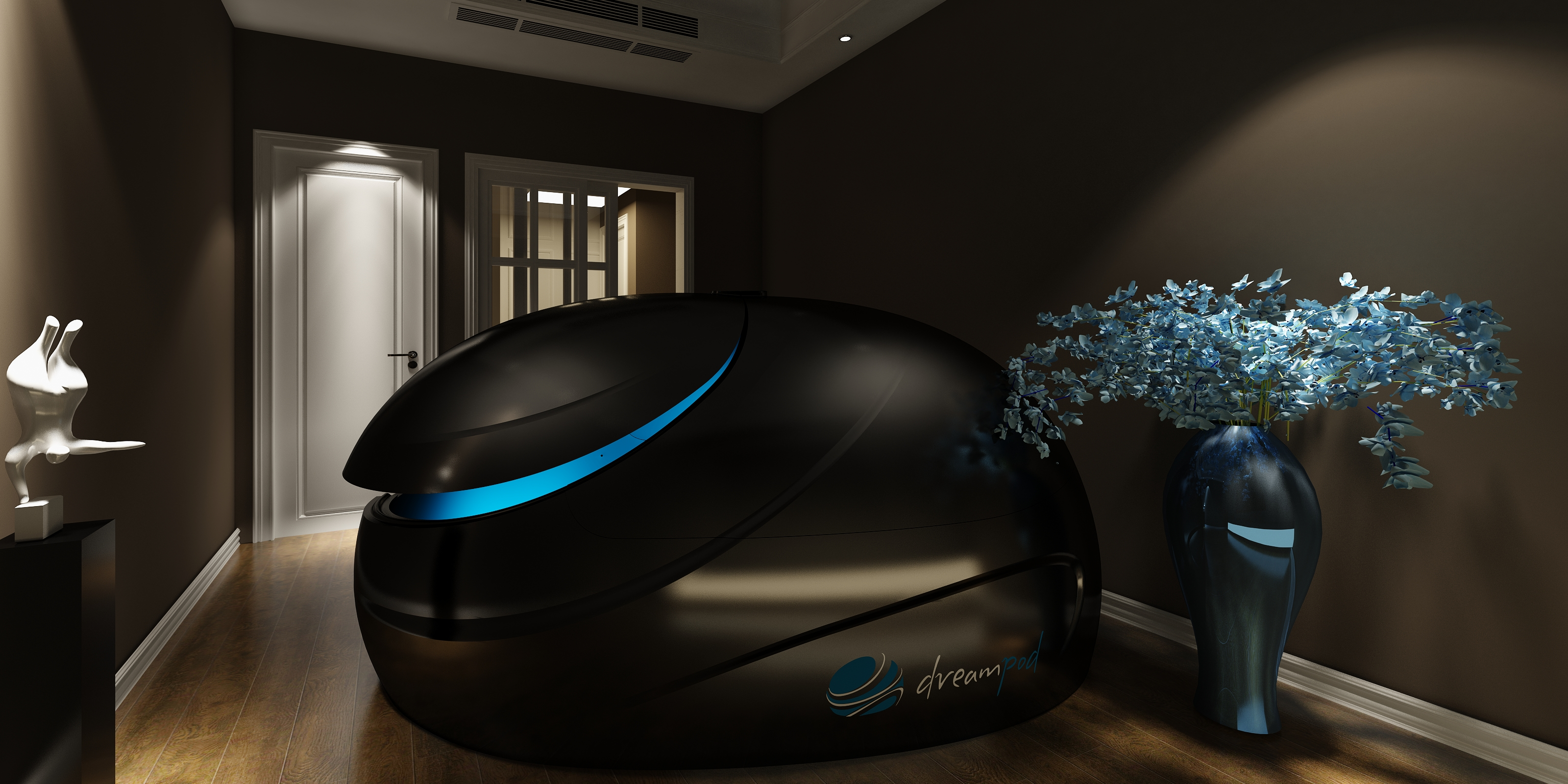 The Dreampod Stealth Amazing Floatation Tanks Dreampod